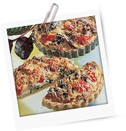 Mangold-Kohlrabi-Tarteletts