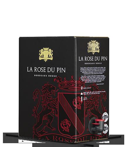 LA ROSE DU PIN Rouge 2017 – 5Liter