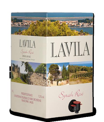 LAVILA Syrah Rosé 2017 – 10Liter
