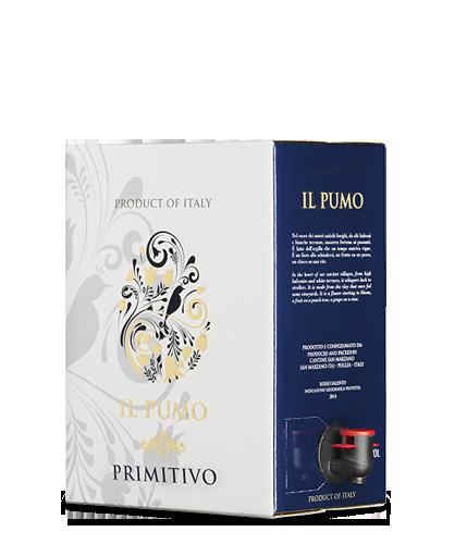 IL PUMO Primitivo 2017 – 5Liter