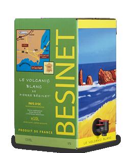 BÉSINET Le Volcanic Blanc 2016 – 10Liter