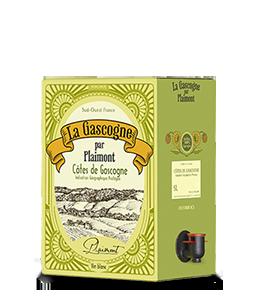 PLAIMONT Gascogne Weiß 2016 – 5Liter