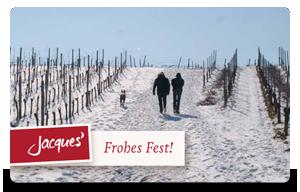 Frohes Fest - Winterlandschaft