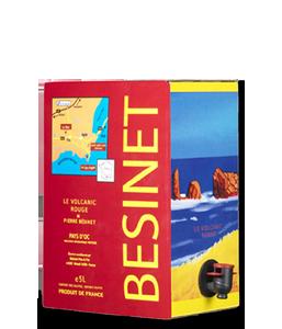 BÉSINET Le Volcanic Rouge 2017 – 5Liter