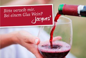 Bitte verzeih mir. Bei einem Glas Wein?