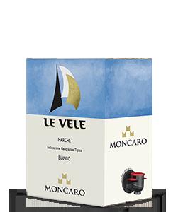 MONCARO Le Vele Bianco 2016 – 5Liter