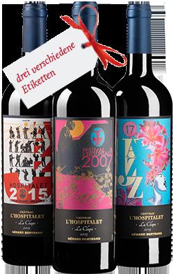 CHÂTEAU L'HOSPITALET Grand Vin Jazz 2015
