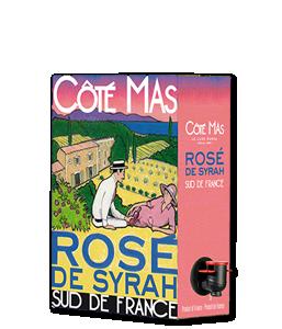 CÔTÉ MAS Rosé 2018 – 3Liter
