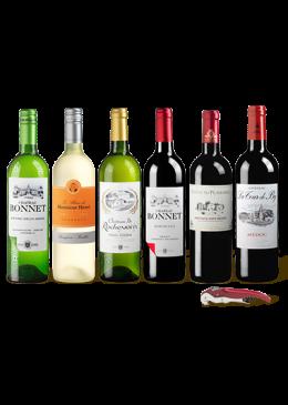 Probierpaket Charmanter Bordeaux