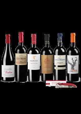 Probierpaket Imposante Rotweine