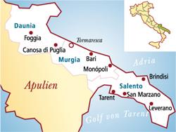 Salice Salentino Italien