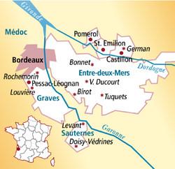 Pomerol Frankreich