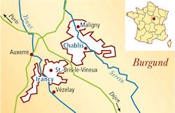 Chablis Premier Cru Frankreich