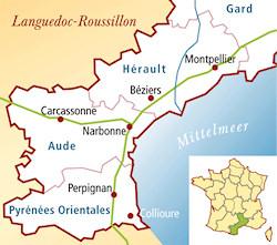 Côtes de Thongue Frankreich