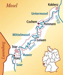 Mosel Deutschland