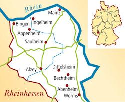 Rheinhessen Deutschland