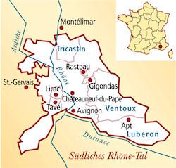 Rhônetal Frankreich