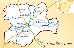 Cigales Spanien