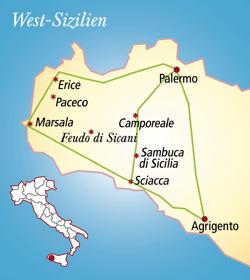 Sicilia Italien