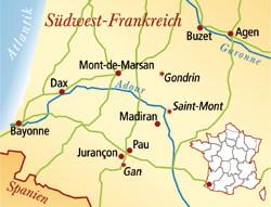Jurancon Frankreich