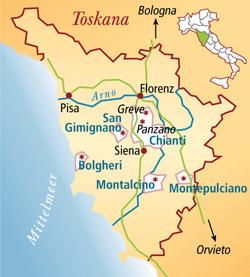 Vino Nobile di Montepulciano Italien